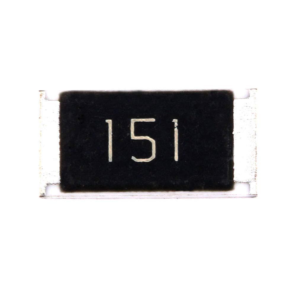 DIYElectronic 50 pcs 2512 Chip Resistor Elegant SMD 150R 1W ohm 150 Resi Max 79% OFF