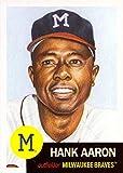 2018 Topps Living Set #46 Hank Aaron Baseball...