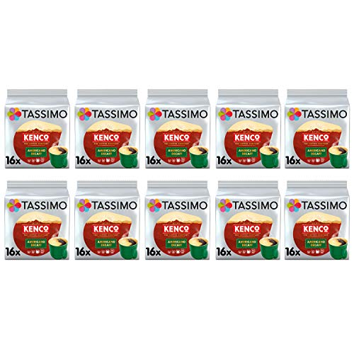 Tassimo Kenco Decaf Kaffeepads - 10 Packungen (160 Getränke)