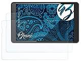 Bruni Schutzfolie kompatibel mit Odys Thanos 10 Folie, glasklare Bildschirmschutzfolie (2X)