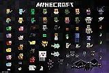 Close Up Minecraft Poster Pixel Sprites (91,5cm x 61cm) + 2