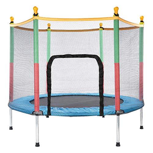 Generisc BNB Products - Tappeto elastico per bambini, per interni ed esterni, diametro 140 cm, extra stabile e sicuro