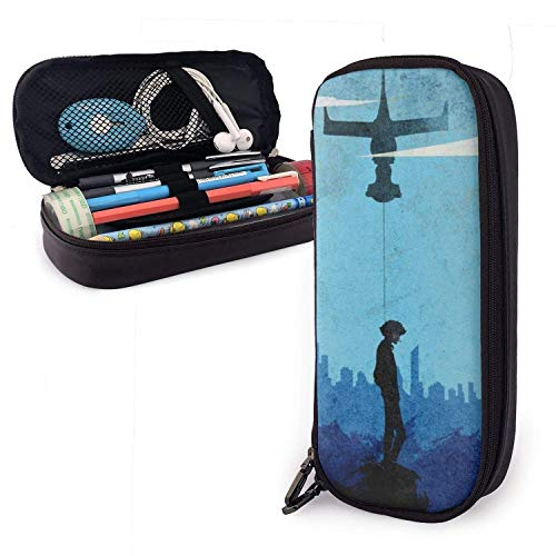 Pencil Case Big Capacity Large Storage Pen Pencil Pouch Stationery Organizer Practical Bag Holder with Zipper - Anime Cowboy Bebop Spike Spiegel