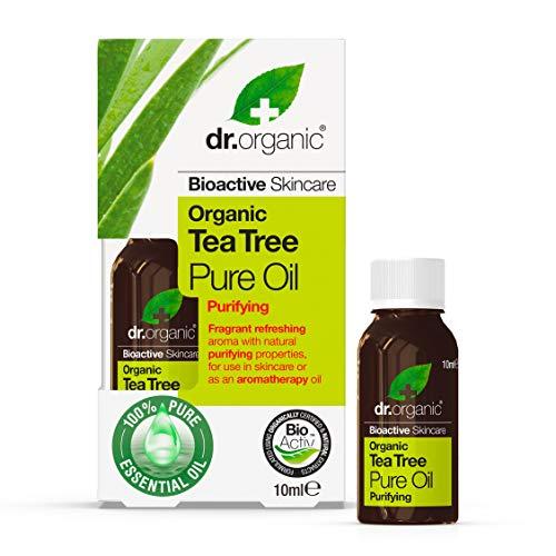 Dr. Organic Aceite Puro Arbol Del Te Organico 10 ml 10 ml