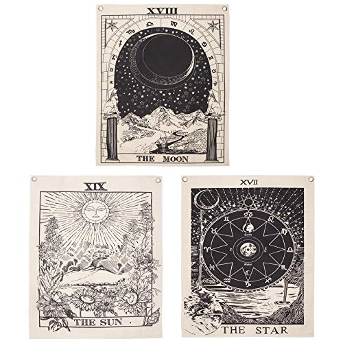$7.99 Pack of 3 Tarot Tapestry Use promo code: 501FEMEQ There is a quantity limit of 1