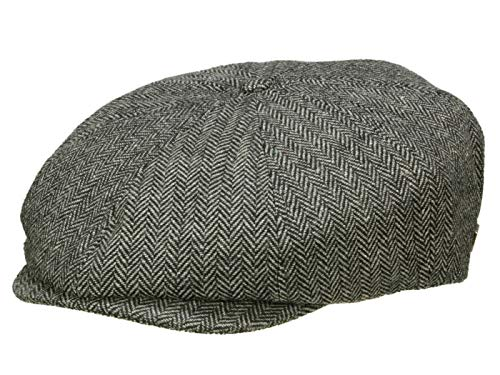 Brixton Homme Casquette Gavroche Brood gris