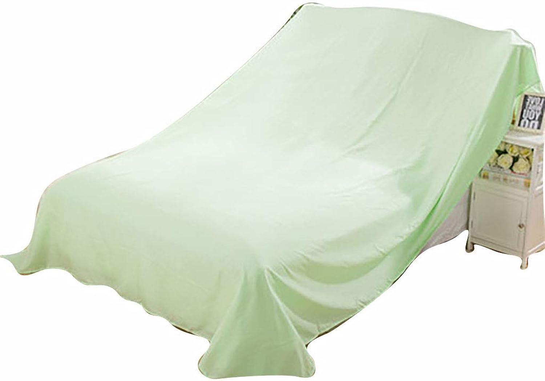 edición limitada en caliente WGE Polvo Cochecasa Cochecasa Cochecasa Transpirable mehltauabdeckung Cama sofaab de Cobertura, de Color verde Claro Möbelabdeckung   Mobile Techo   100 700cm  compras de moda online