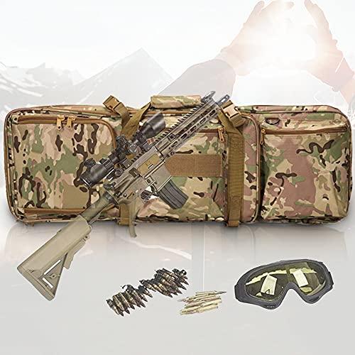 【MATERIALE DI ALTA QUALITÀ】 La borsa tattica CS è realizzata in tessuto Oxford resistente e resistente all'usura, che può prevenire strappi e abrasioni. È impermeabile, resistente e antiurto, rendendo la borsa della pistola più resistente. Può fornir...