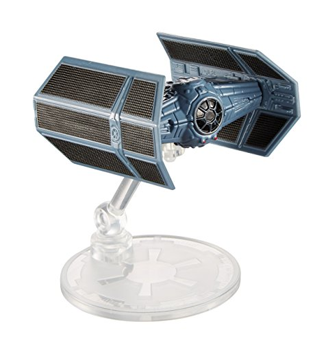 Star Wars Darth Vader TIE Fighter Raumschiff aus der Star Wars Saga Hot Wheels Mattel Flieger