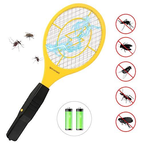 QcoQce Raquette Anti Moustique Electrique avec AA Batterie,
