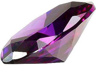 Frieed 28.35ct 20x15mm Purple Ellipse Ellipse coupée elliptique Gemstone VVS AAA Bijoux décorations gemmes libérales Durable