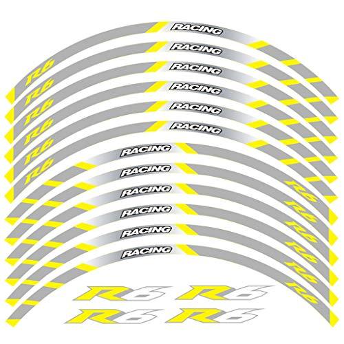psler Moto Interno Cerchione Decalcomanie Adesivi Per Yamaha R6