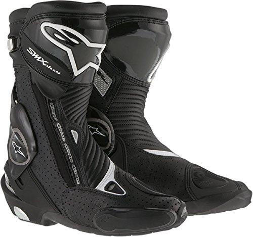 Alpinestars Mens SMX Plus Vented Boot (Black, EU 43)