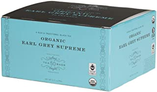 Harney & Sons Organic Earl Grey Supreme Teabags, 50 Count