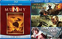 Clash of the Titans / Wrath of the Titans Triple + The Mummy Amazing Fantasy Four Movie Feature