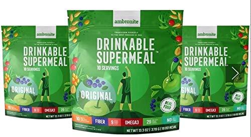Ambronite Complete Meal Shake – Originalgeschmack 1600 kcal 378 g
