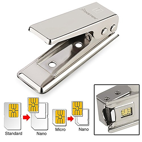 Insten Nano SIM Card Cutter Compatible with iPhone 5, iPhone 4, 4S and Other Phones