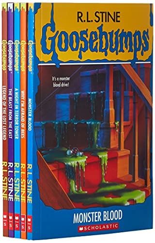 Product Image of the Goosebumps 25th Anniversary Retro Set