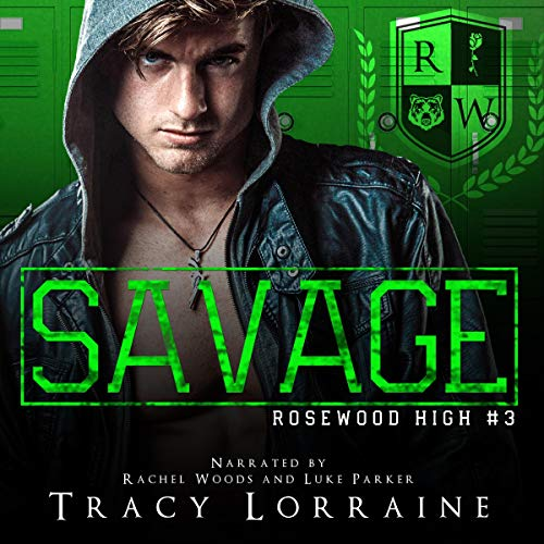 Savage (A Dark High School Bully Romance)  By  cover art