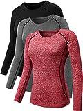 Neleus Women's 3 Pack Workout Clothes Compression...