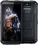 Blackview BV9500 Plus (2020) Rugged Phones Unlocked, 10000mAh Battery Helio P70 Wireless Charging, IP68 Waterproof Cell Phones 5.7 inch Android 9.0 4GB+64GB ROM 16MP+13MP Global Version Phones, NFC