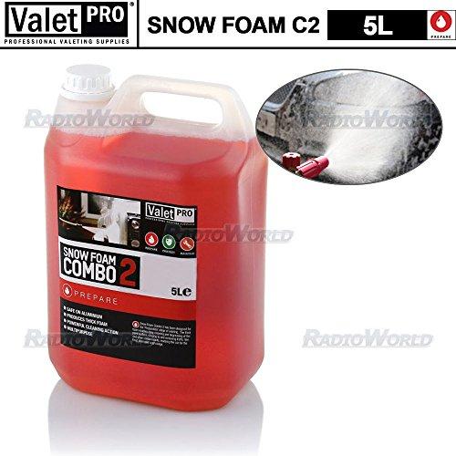 Preisvergleich Produktbild ValetPRO Schneeschaum Shampoo Valet Wash Auto Van Seife kraftvoller alkalischer Reiniger