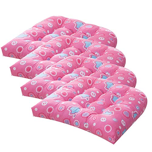 Thicken Printed Seat Cushions,Cotton Tufted Chair Pads...