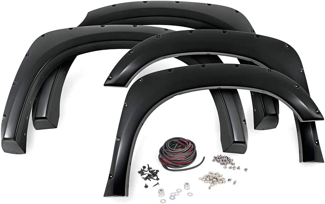 Rough Country Pocket Denver Mall Fender Daily bargain sale Flares Tundra fits 2014-2020 Unp