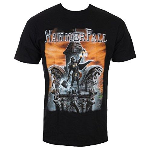 NAPALM RECORDS Herren T-Shirt Metal HammerFall - Built to Last TS_2966 XXL