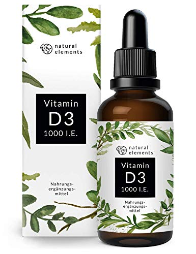 bester der welt Vitamin D3 – Mehrere Gewinner 2019/2020 * – Labortest 1000 IE pro Tropfen – 50 ml (1750… 2021