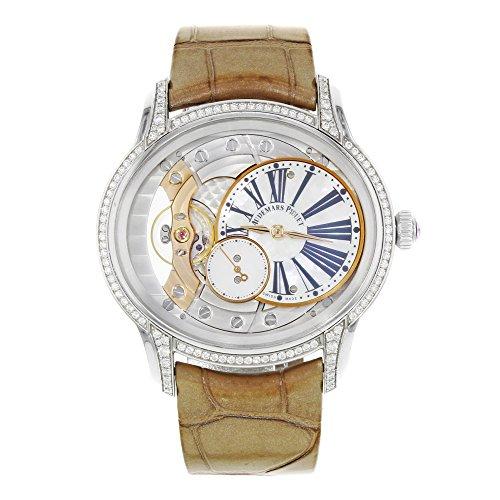 Audemars Piguet Millenary 77247bc.zz.a813cr.01 18K White Gold Hand Wind Watch