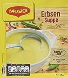 Maggi Guten Appetit Suppe Erbsensuppe, 14er Pack (14 x 53 g)