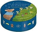 Adventskalender: Der Weihnachtswunsch der kleinen Maus - 24 kurze Geschichten für Kinder zum Lesen und Vorlesen ab 3 Jahren - In Blechdose mit 24 ... 24 Karten zum Aufhängen in Blechdose