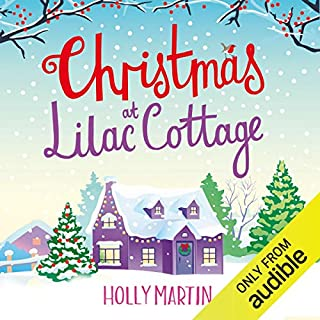 Christmas at Lilac Cottage audiobook cover art