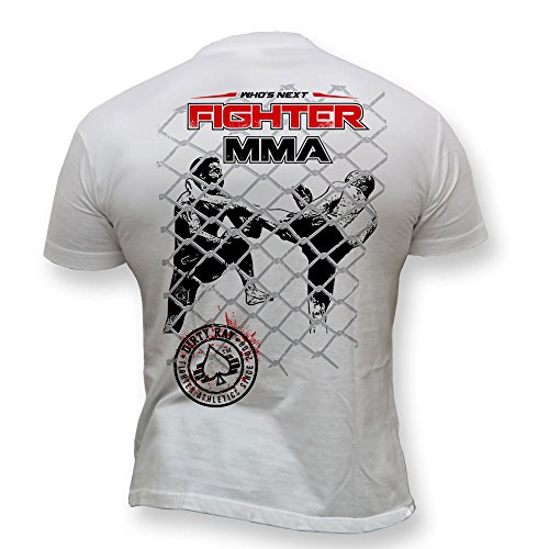 Dirty Ray Kampfsport MMA Fighter Who's Next Herren Kurzarm T-Shirt K62 (XL)