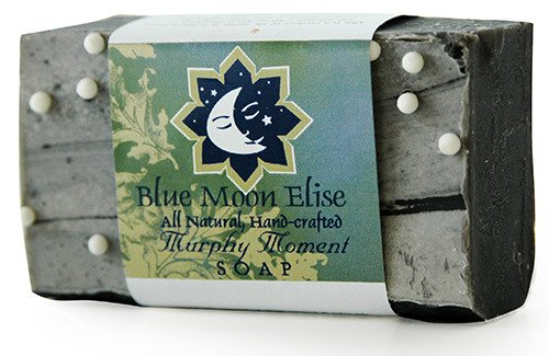 Blue Moon Elise Murphy Moment All Natural Bar Soap, Scented with Premium Lavender, Orange and Ylang Ylang Essential Oils, Made with Organic Ingredients, Handmade in the USA, Moisturizing and Therapeutic for Face/Body, For Sensitive Skin, For Men and Women