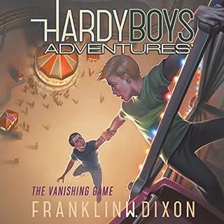The Vanishing Game audiobook cover art