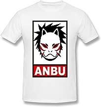 Hytgred Dog-Bruce-lee-dj Anbu Summer Air Permeability Handsome Leisure Time White Short Sleeve T-Shirt