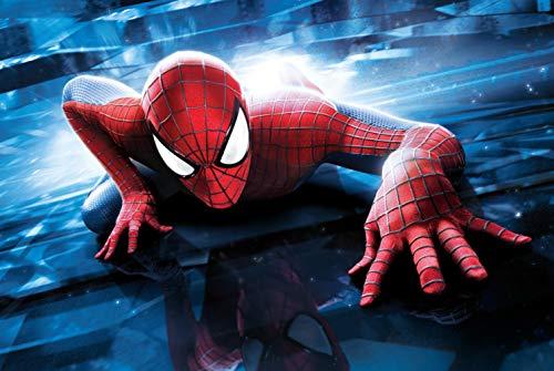 Verbazingwekkende Spider-man Fotobehang Custom Super Hero Wallpaper 3d Muurschildering Kinderen Jongens Slaapkamer Woonkamer Sofa Tv Achtergrond
