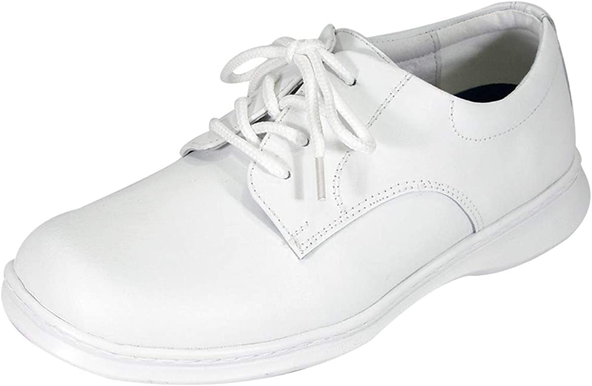 24 Hour Comfort Tim Men's Wide Width Leather Lace-Up Oxford Shoes