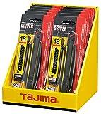 Tajima TAJ-10107 Cutter DC560YB mit 13 Klingen Razar Black LCB50RBC, 1 Stück