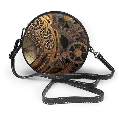 Osvbs Steampunk Gear Time Machine Clockwork Bronze Vintage Machine Retro Women