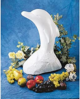 Paderno World Cuisine 27-1/8-Inch High Dolphin Ice Sculpture