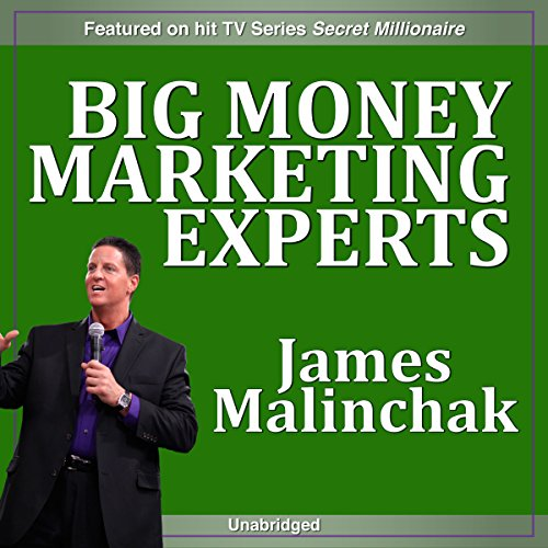 Big Money Marketing Experts audiobook cover art
