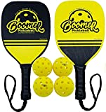 Boomer Pickleball Bundle Sets – Your Choice of 2 or 4 Premium Wood-Series Paddles +...