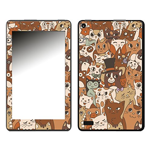 'Disagu SF 108159_ 840Design For Amazon Fire 7'Mittens and Friends 02(2017)–Clear