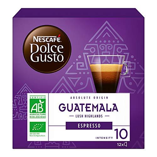 Nescafé Dolce Gusto Espresso Guatemala Caffè, 6 Confezioni da 12 Capsule (72 Capsule)