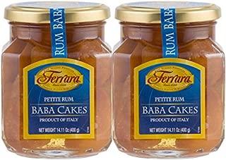Ferrara Petite Rum Baba Cake, Pack of 2
