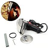DiLiBee 220-230V / 50Hz 80W Doner Cutter Doner Doner Kebab Couteau Kebab Cutter Gyrosmesser Électrique Doner Kebab Rouge
