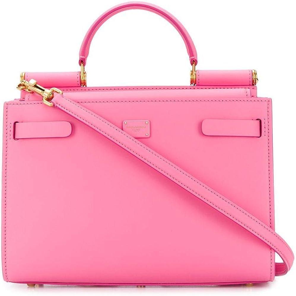 dolce & gabbana luxury fashion borsa a mano per donna in vera pelle 100% bb6625av38580405